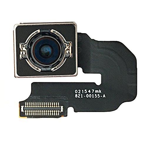 Johncase New OEM Original 12MP Autofocus Main Rear Back Camera Module Flex Cable Replacement Parts for Iphone 6s Plus 5.5