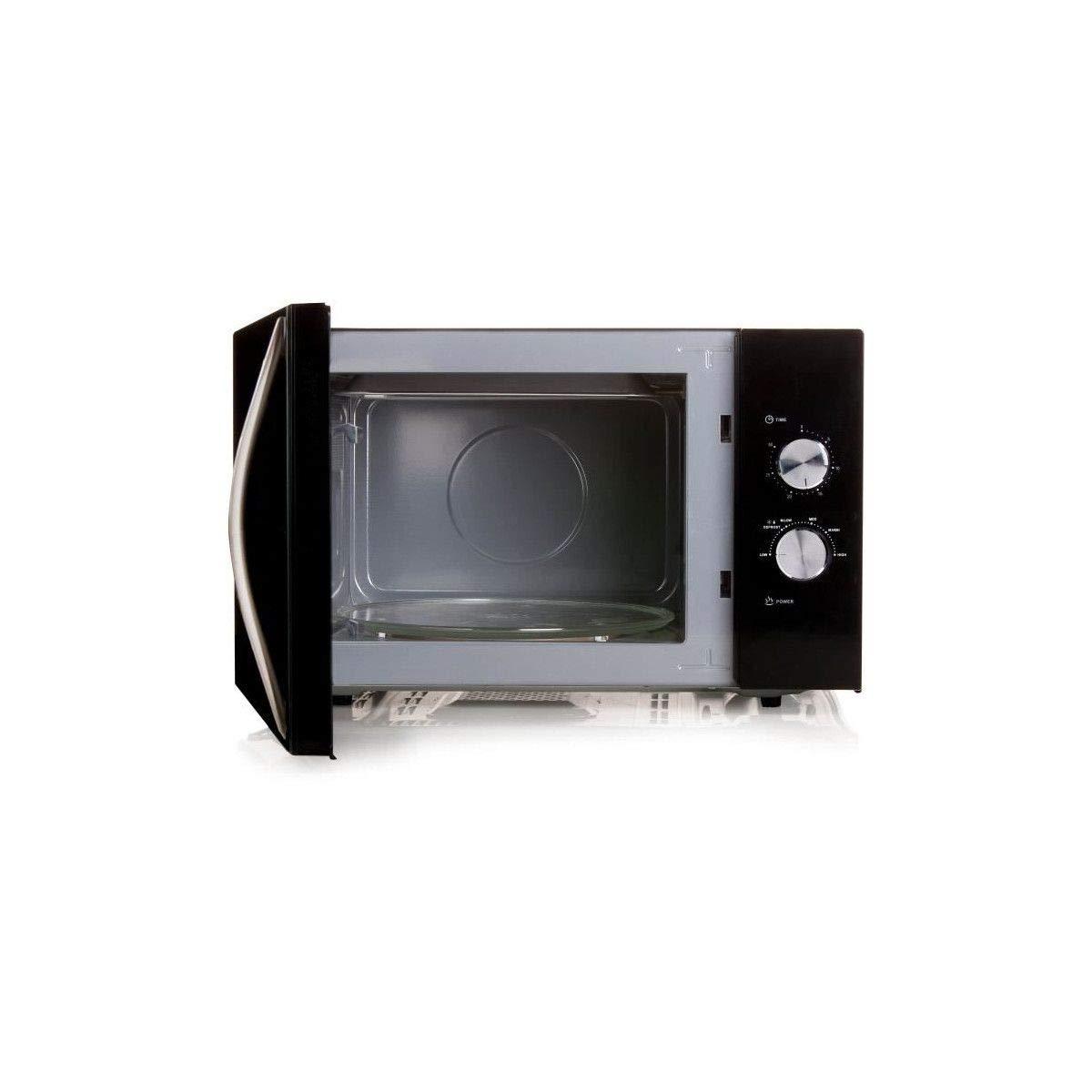 DOMO DO2431-Micro-ondes monofonction noir-30 L-900 W-Pose ...