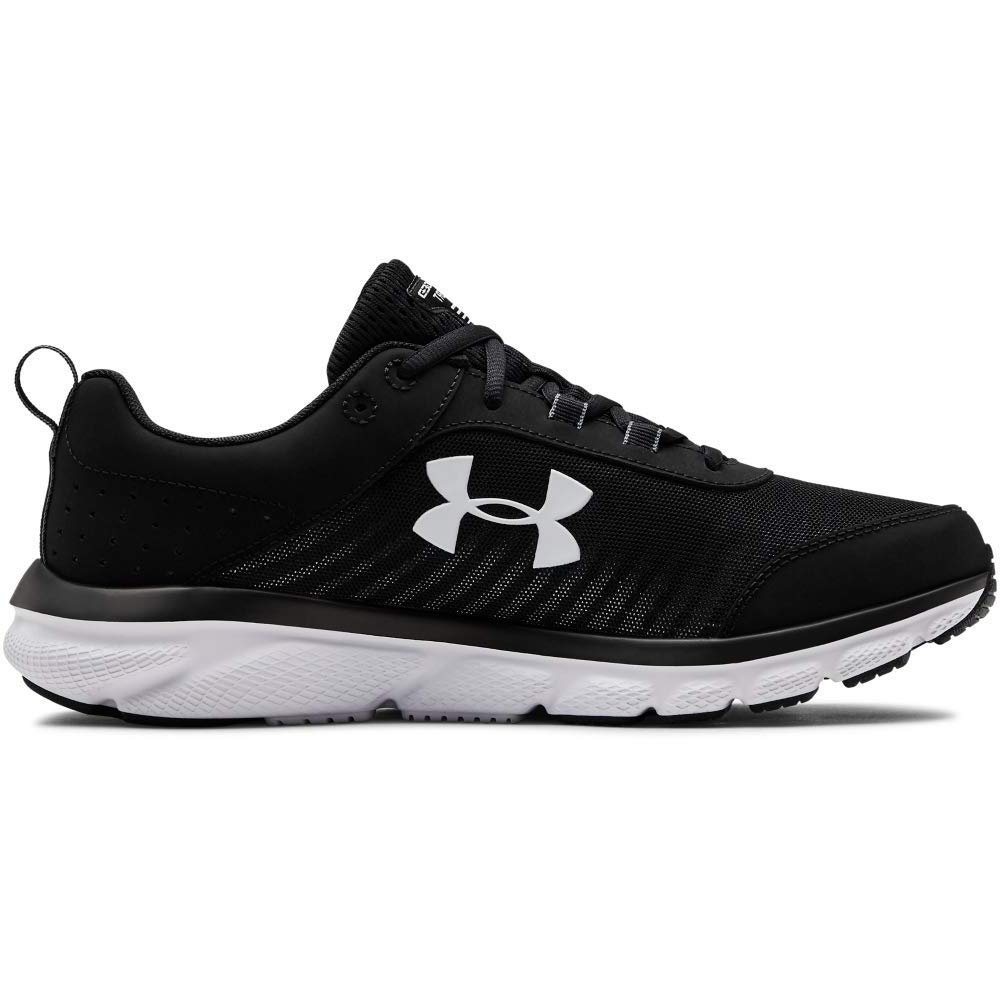 Under Armour Men's Charged Assert 8 Running Shoe (001)/Black, 12 by Under Armour