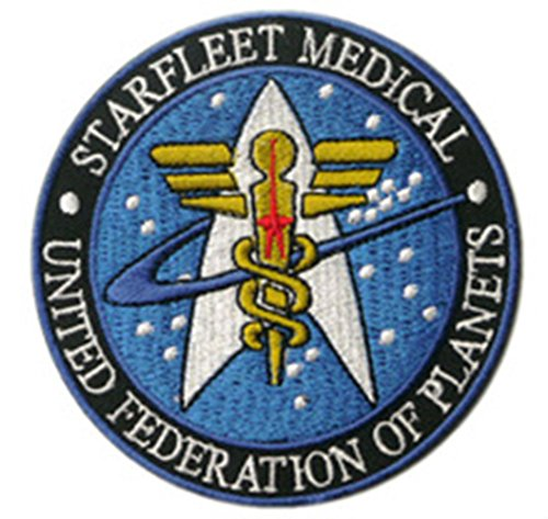 Blue Heron Star Trek Medical Insignia 4
