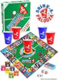 DRINK-A-PALOOZA Board Game: Old-School + New School Drinking Games Deal (Small Image)