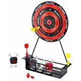 Darts Drinking Game For Adults Magnetic Board Darts & Shot Glasses Set