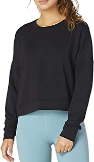 product image for Beyond Yoga Womens Color Streak Cropped Pullover