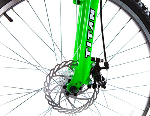 Titan #135 Glacier PRO Alloy Dual Suspension All Terrain 21 Speed 19 Inch Frame Mountain Bike