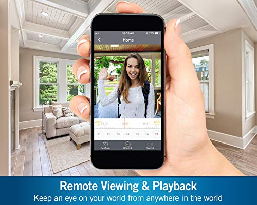 Night Owl 1080p HD Smart Video Doorbell with 2-Way Audio, Night Vision, Real-Time Alerts, Free Remote Viewing App, Dual…