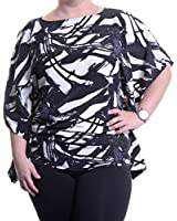 Vince Camuto Abstract Poncho Blouse Size XS