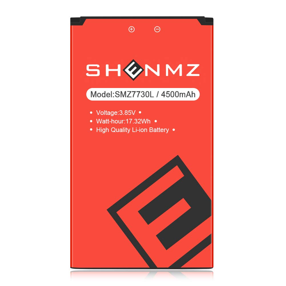 (Upgraded) 4500 mAh SHENMZ Replacement Battery for Novatel Jetpack MiFi 7730L Mobile Hotspot P/N: 40123117 by SHENMZ