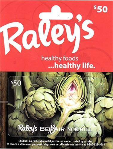 Raley's $50 Gift Card - Grocery E Gift Store Cards
