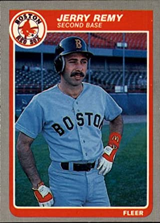 Amazoncom 1985 Fleer Baseball Card 167 Jerry Remy Mint