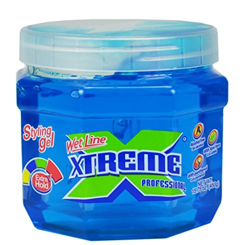 - Xtreme Professional Wet Line Styling Gel with Extra Hold, 15.75 Ounce