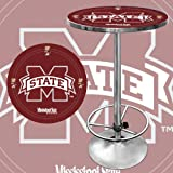NCAA Mississippi State University Chrome Pub Table