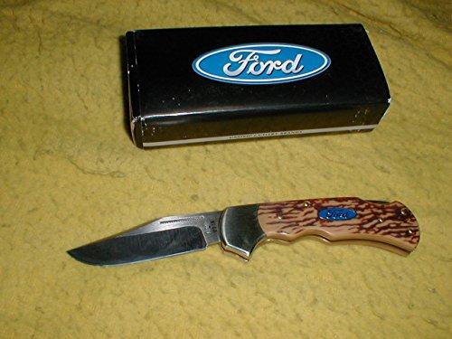 Handles Stag Deer (Ford Folding Knife W/imitation Deer Stag Handle)