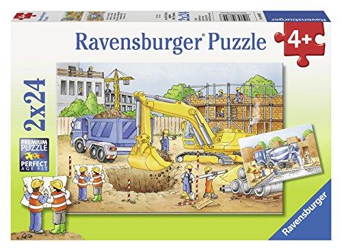 (Ravensburger Construction Site Jigsaw Puzzle (2 x 24 Piece))