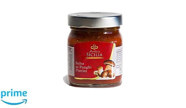 ANTICA SICILIA | LISTO SALSAS | Salsa Montanara con hongos Porcini | 300 gr: Amazon.es: Salud y cuidado personal