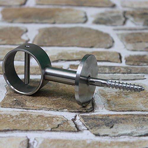 Nickel matt Inneneck Seilträger für 40mm Handlaufseile