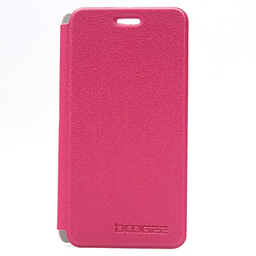 New Flip PU Leather Case Cover for DOOGEE Valencia DG800 (Red)