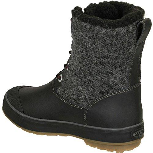KEEN Women's Elsa WP-w Snow Boot, Black Wool, 8.5 M US by KEEN (Image #2)