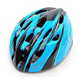 MCH-SAHOO EPS and PC 18 Vents LED Multicolor Bike Cycling Helmet , Blue