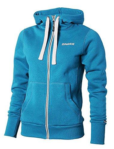 REJOICE® Sweatjacke Viola - Zip Hoodie für Damen