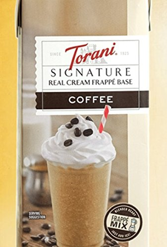 Torani Signature Real Cream Coffee Frappe Base by Torani