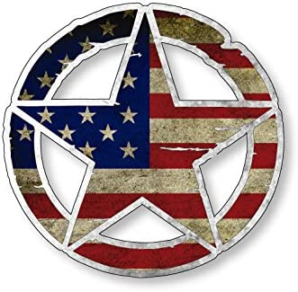 American Vinyl Decal Military Sticker product image