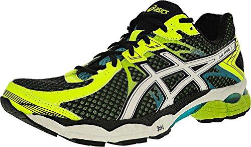 ASICS-Mens-Gel-Flux-2-Running-Shoe-BlackWhiteFlash-Yellow-115-M-US
