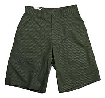 Under Armour Men UA GOLF Thin Stripes Flat Front Shorts 32 Rifle Green