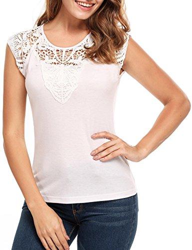 Floral Sleeveless T-shirt - 9
