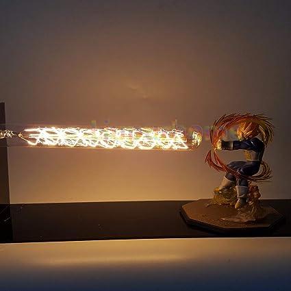 Dragon Ball Z Figurine Super Saiyan Led Light Lamp Action Figure Whole Set PVC