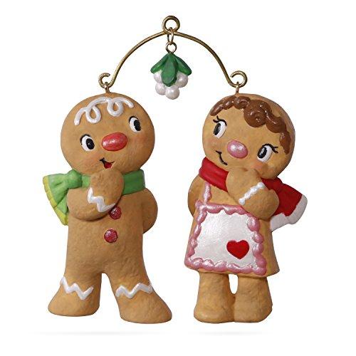 Collectibles Gingerbread - Hallmark Keepsake 2017 Cute Cookie Couple Christmas Ornament