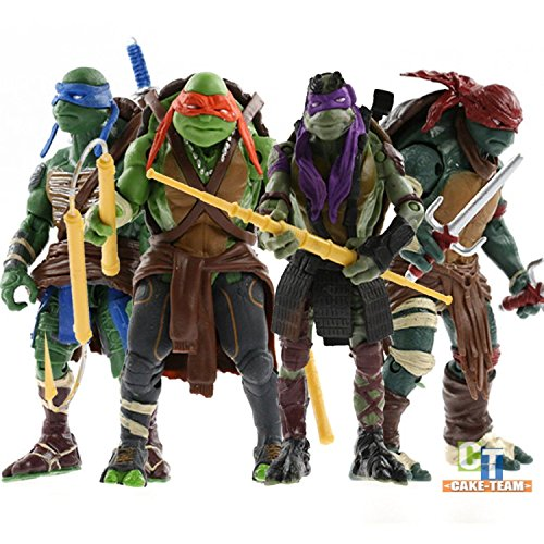 Mutant Ninja Turtles Lot Action Figures Anime Movie Toys Gift