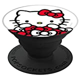 Hello Kitty Bow Pile PopSockets Stand for Smartphones and Tablets