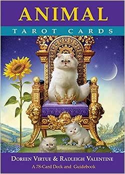 Animal Tarot Cards: A 78-Card Deck and Guidebook - Livros