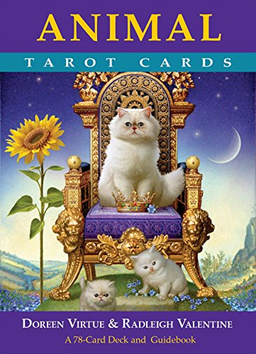 Animal Tarot Cards: A 78-card Deck and Guidebook -
