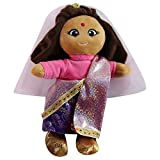 """Soft Plush Around the World Indian 8"""" Collector Doll"""