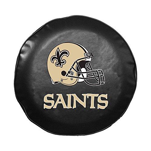 NFL New Orleans Saints Spare Tire Cover (Jeep Tire Cover Saints)