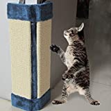 JIARUILA Wall Mounted Scratching Post - Sisal Wall Protecting Corner - Stops Scratching Cats & Couch-Corner