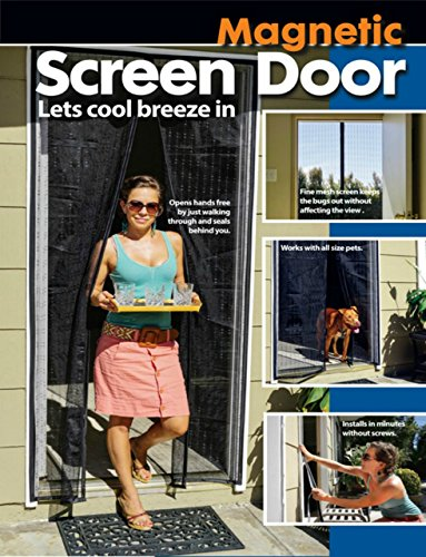 (Magnetic Screen Door With