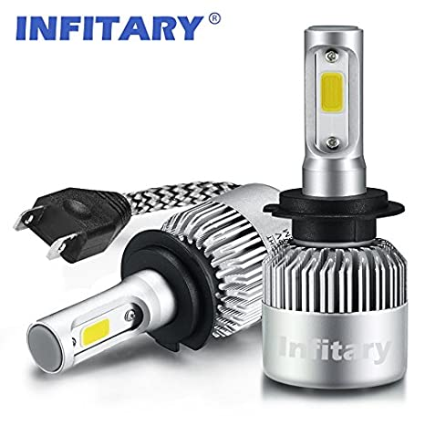Amazon Com Infitary Led Headlight Bulbs Conversion Kits Single Beam