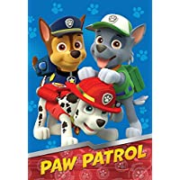 Nick Jr Paw Patrol All Paws on Deck Micro Raschel...