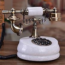 Natural Jade Antique Telephone Vintage Jade Landline Telephone Home Telephone