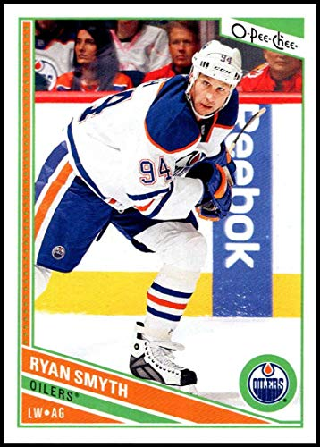(2013-14 O-Pee-Chee #356 Ryan Smyth NM-MT Edmonton Oilers Officially Licensed NHL Hockey Trading Card)