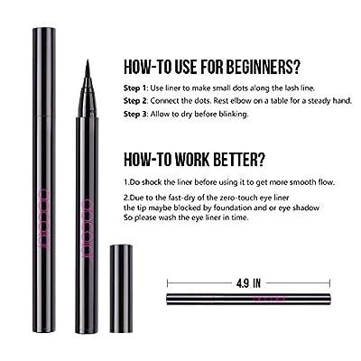Docolor Eyeliner Pen Eye Brush Fan Brush