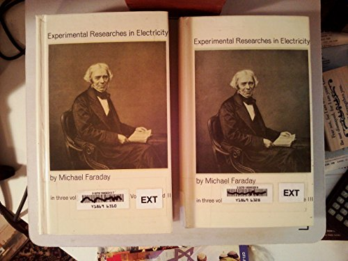 EXPERIMENTAL RESEARCHES in ELECTRICITY (Volumes 1, 2 & 3)]()