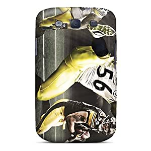 Unique Design Galaxy S3 Durable Tpu Cases Covers Pittsburgh Steelers