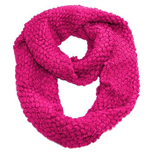 popcorn knit scarf - 9