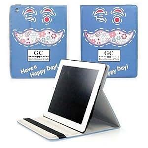 Caballero retro del club del cuero de la PU con el soporte para el iPad de Apple Aire