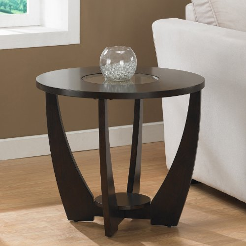 Metro Shop Archer Espresso End Table with Shelf