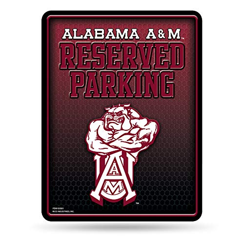 - NCAA Alabama A&M Bulldogs 8-Inch by 11-Inch Metal Parking Sign Décor