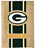 "NFL Green Bay Packers Burlap Garden Flag, 12.5"" x 18""/Medium, Multicolor"